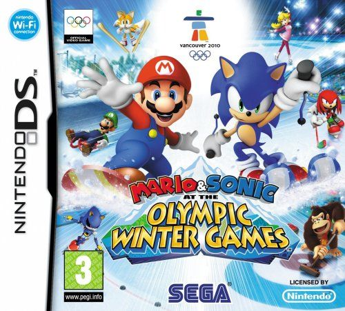 Mario Sonic Olympic Winter Games Nintendo Ds Game Searches This Is The Item For Nintendo D Jeux Olympiques D Hiver Jeux De Console Jeu D Hiver