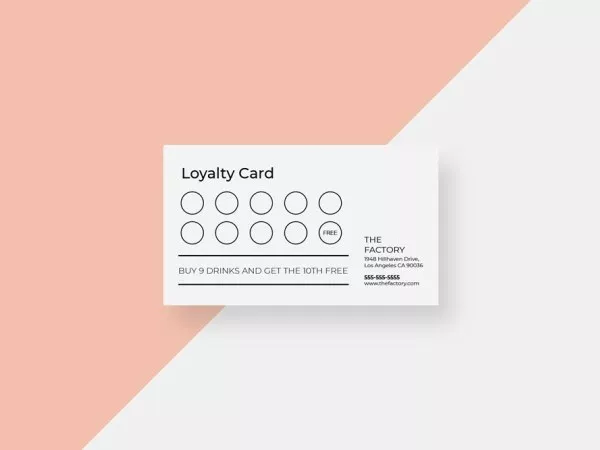 Loyalty Punch Card Templates Archives Restaurant Spider Store Loyalty Card Template Loyalty Card Design Loyalty Card