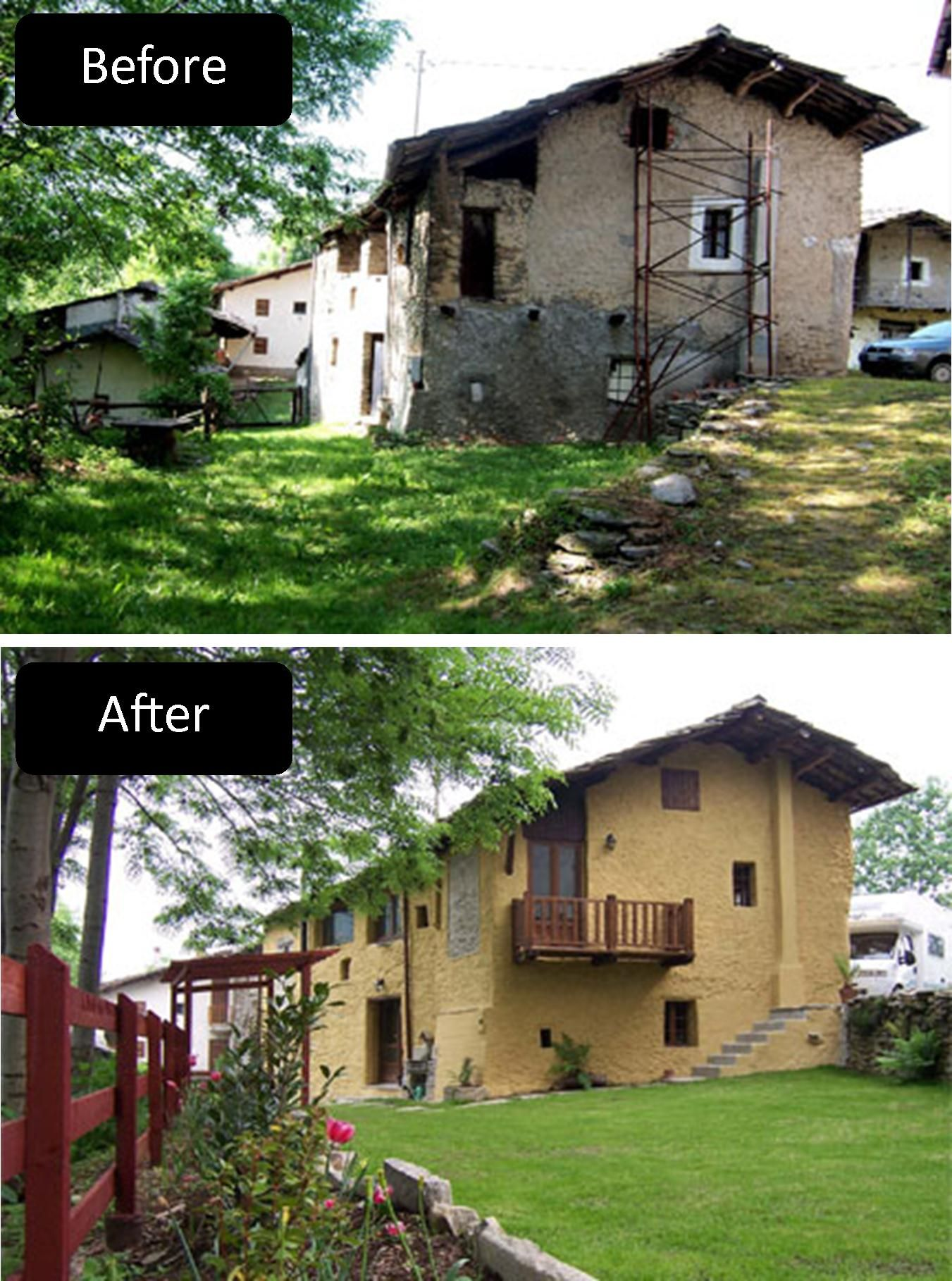 Bedroom Renovation Before And After renovation in italy. #italy #home #renovation | travel | pinterest