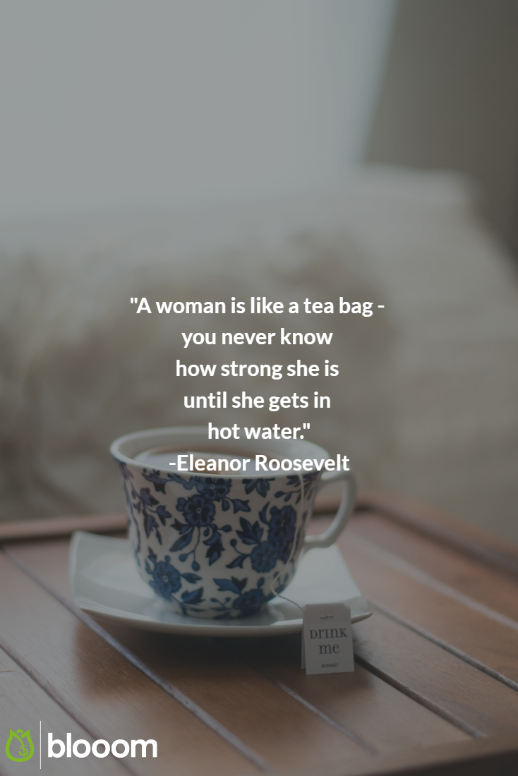 Great Eleanor Roosevelt Quote We Believe In Strong People Strong