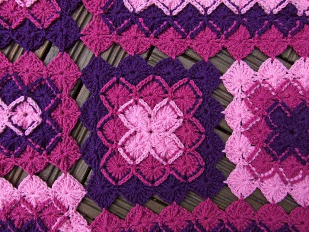 Bavarian Lap Blanket Crochet Pattern | Bavarian crochet, Crocheting ...