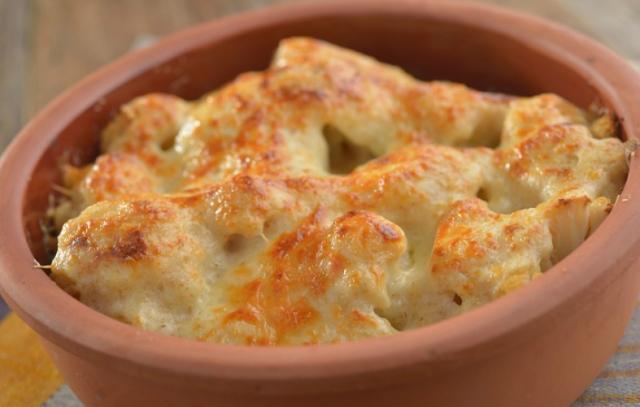 Slow Cooker Cheesy Cauliflower ~ Slow Cooker Taste