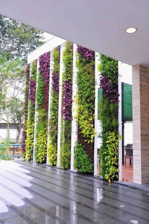 85 Amazing Vertical Garden Ideas For Wall Decorations Jardins Verticaux Amenagement Jardin Jardiniere Murale
