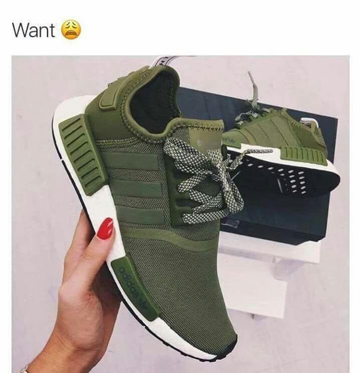 khaki adidas trainers