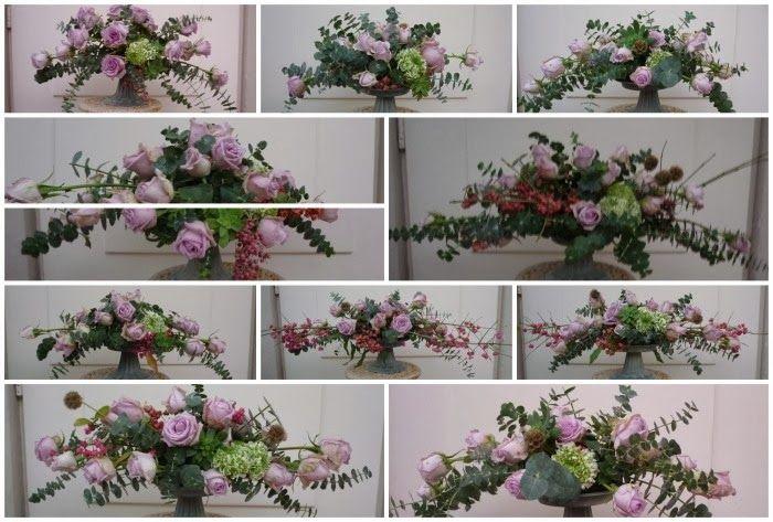 Centrotavola su alzatina shabby | Floral, Decor