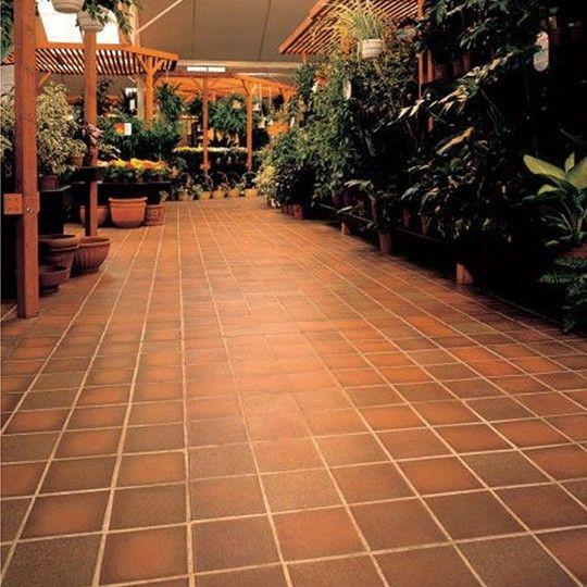 Quarry Tile Ruabon Tiles Tiles Deck