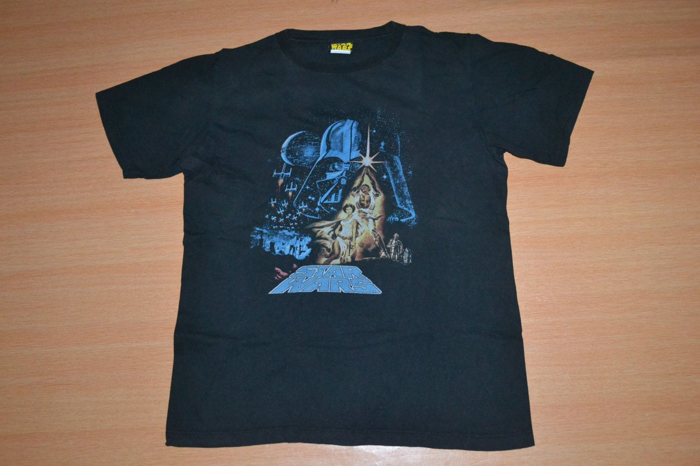 Black sabbath t shirt etsy - Vintage 90s Star Wars A Galaxy Far Away Movie Promo Rare Size M T Shirt