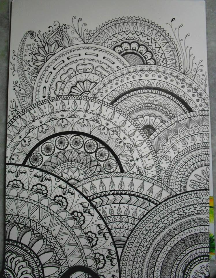 my drawings inspired zentangle textures pinterest zeichnen kunst und malerei. Black Bedroom Furniture Sets. Home Design Ideas
