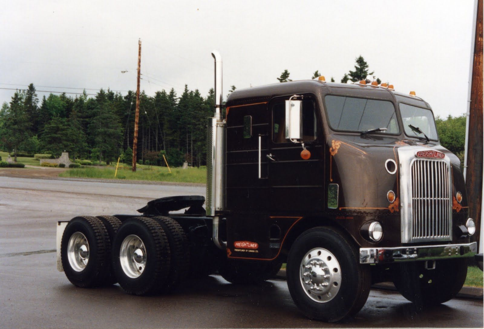 Freightliner cabover pictures freightliner coe tribute