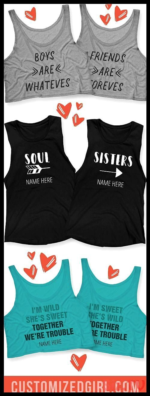 Celebrate your BFF your bestie and partner in crime with custom best friend sh Funny Girl Shirts Ideas of Funny Girl Shirts funnygirlshirts girlCelebrate your BFF your be...