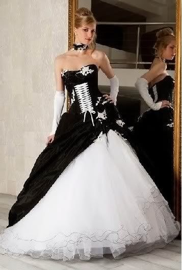 black, white corset for dress - Google Search | Gothic Weddings ...