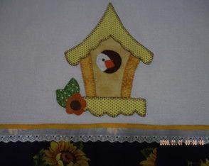 Pano de Prato (Casinha do Pássaro)