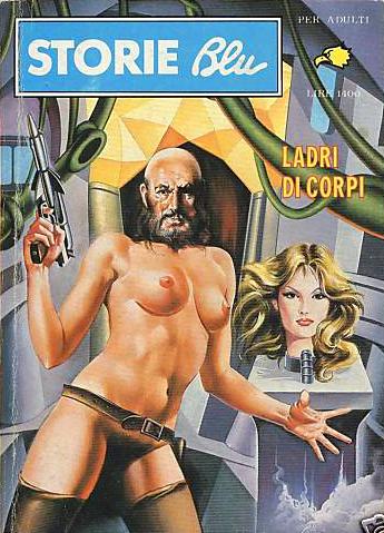 Storie Blu #58 - LADRI DI CORPI