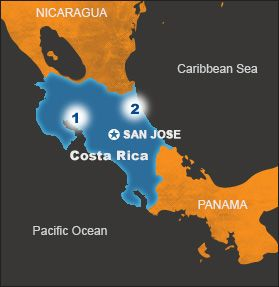 Costa rica spanish for rich coast is located on the central world vision canada gumiabroncs Images