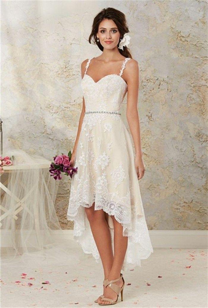 ▷ 1001+ ideas de vestidos de novia cortos y elegantes | bodas