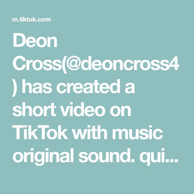 Deon Cross Deoncross4 Has Created A Short Video On Tiktok With Music Original Sound Quick Meals Ideas Chilicheesedip Quickmeals Music Video The Originals