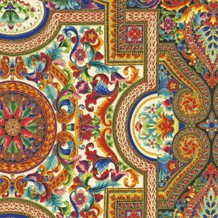 "Peggy Toole's ""Florentine IV""by Robert Kaufman Fabrics"