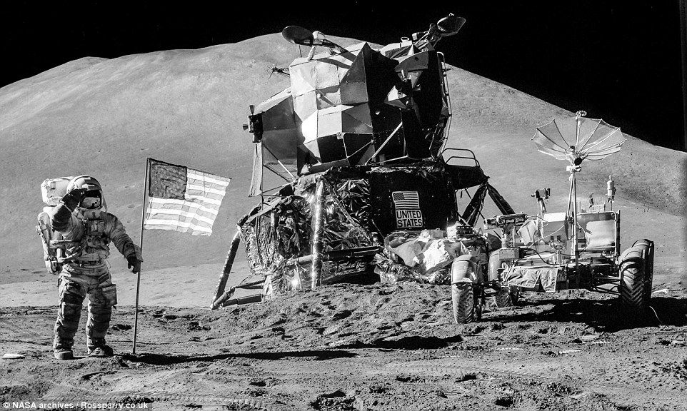 Photographer Creates Incredible Panoramas From Apollo Snaps Apollo Missions Discover Magazine Space Exploration