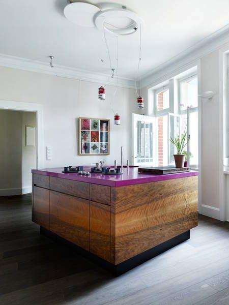 Pin by Uta Christina on PINK Bold kitchen, Freestanding