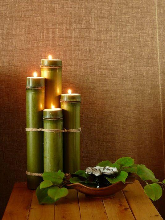 Decoraciones de bamb para tu hogar for Decoraciones de hogar