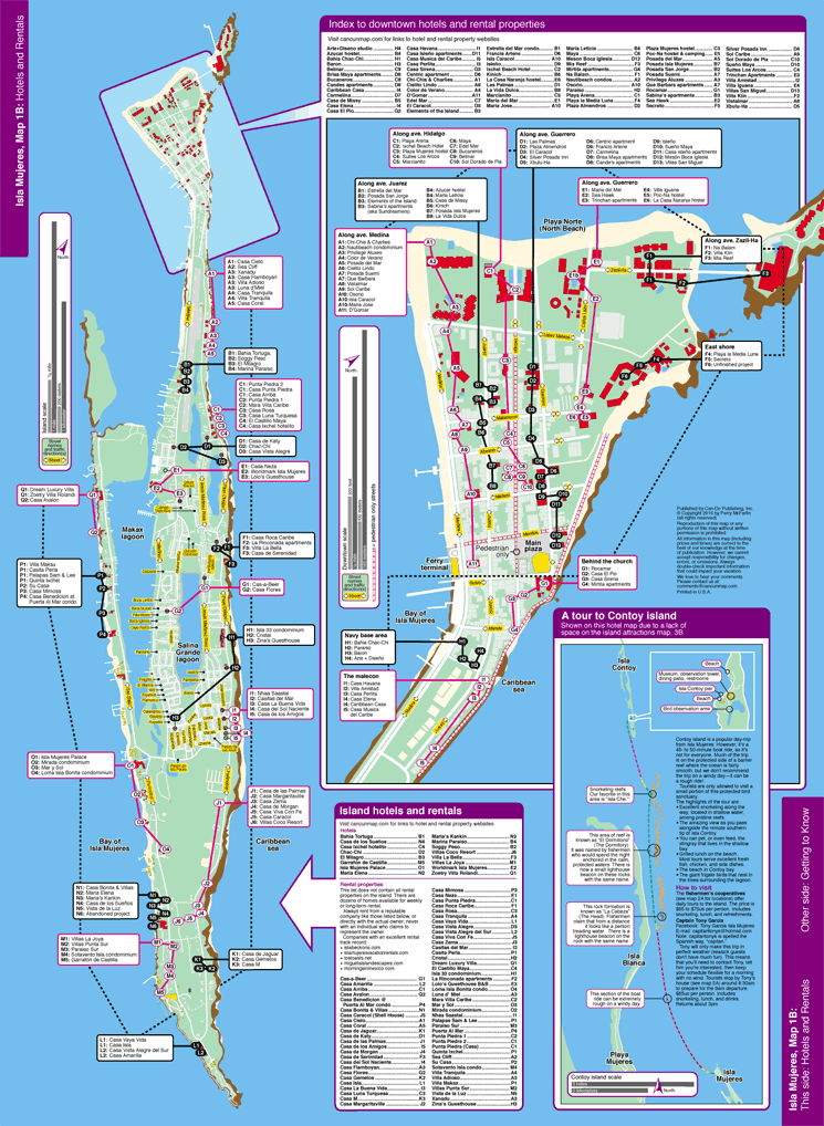 Hotel Map Isla | 2018 World's Best Hotels on