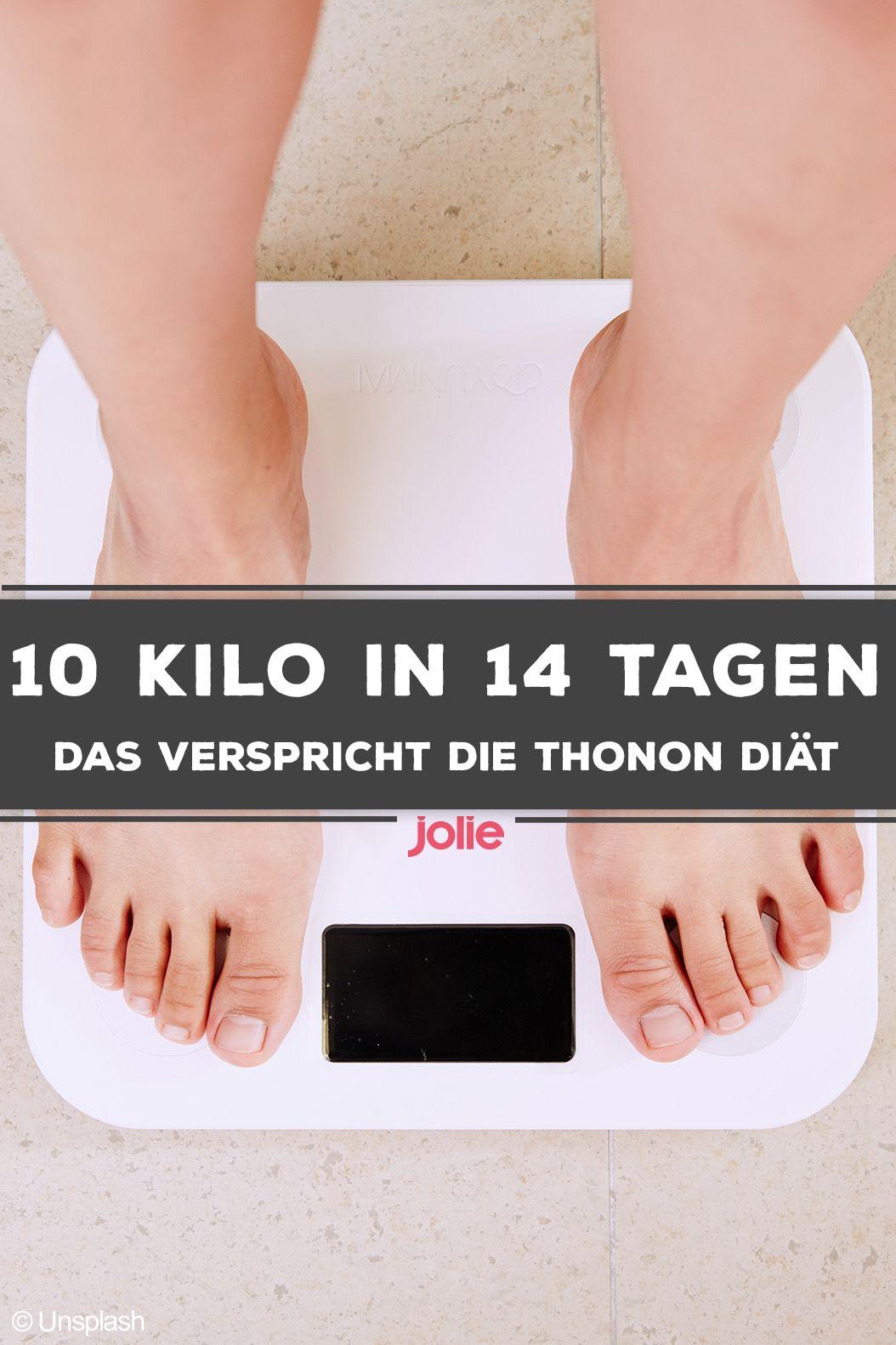 Planen Sie, in einer Woche 10 Kilo abzunehmen