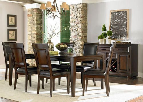 The Napa Dining Room Collection The Roomplace  Pinterest  Room Custom The Room Place Dining Room Sets Review