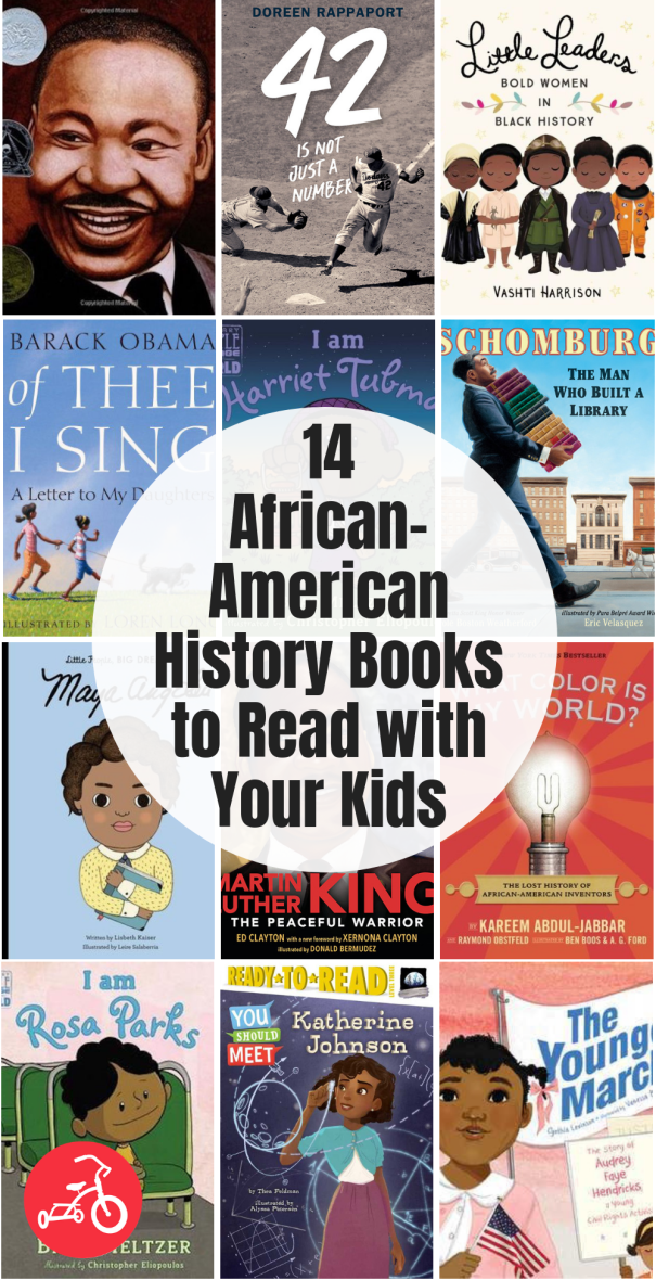 21 African-American History Books to Read with Your Kids #historyfacts