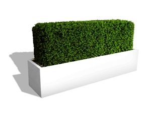 Low Profile Planter Boxes 12 Tall Collection Long Planter Boxes Artificial Plants Long Planter