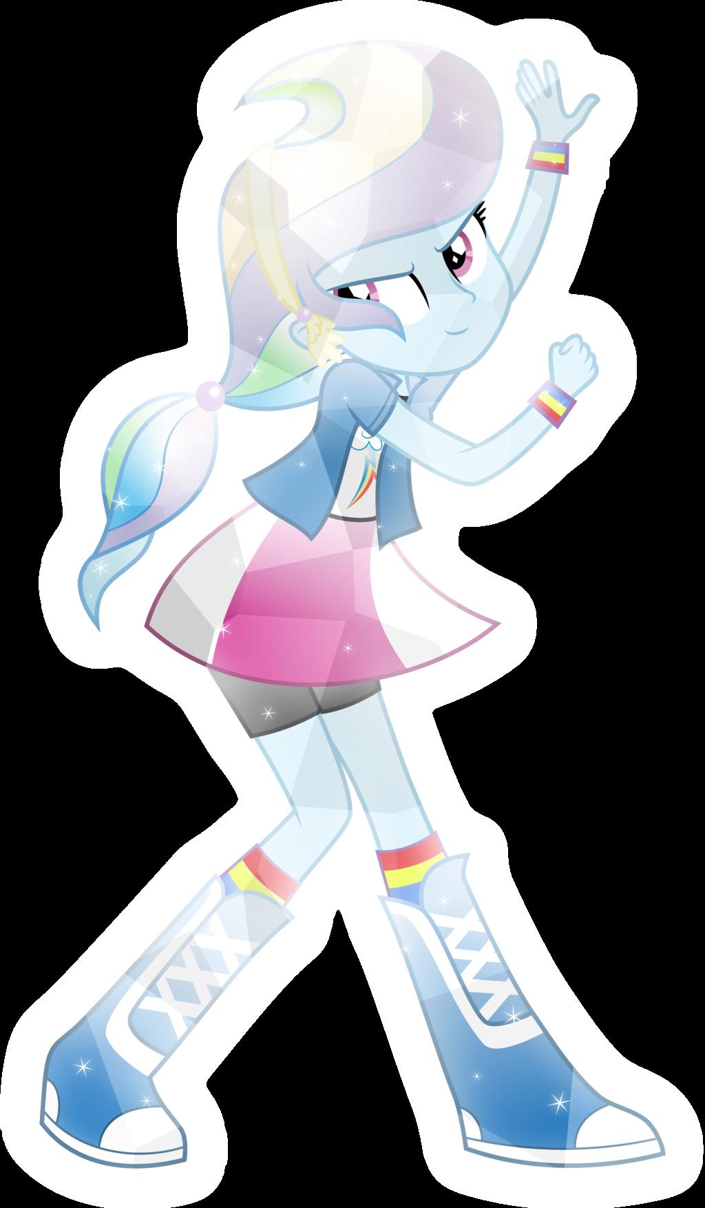 crystal human rainbow dash by meteorsparkdeviantartcom