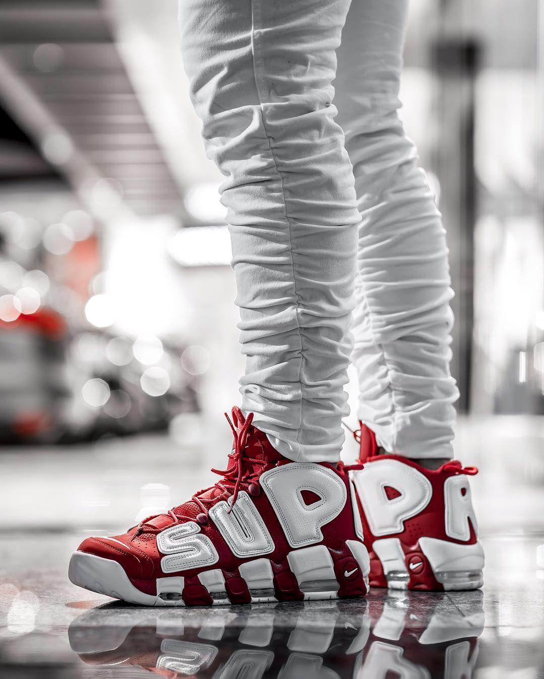 Supreme X Nike Air More Uptempo U0026quot;Suptempou0026quot; From Godlinessonline.com #nike #supreme # ...