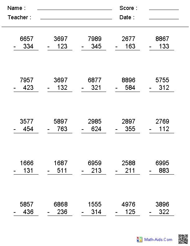 or  digit no regrouping vertical format subtraction    or  digit no regrouping vertical format subtraction worksheets