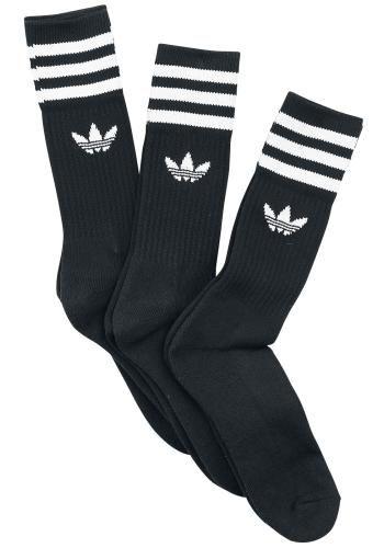 1f046bbf6 Solid Crew Sock 3 Pack in 2019 | Apparel | Adidas socks, Socks, Crew ...