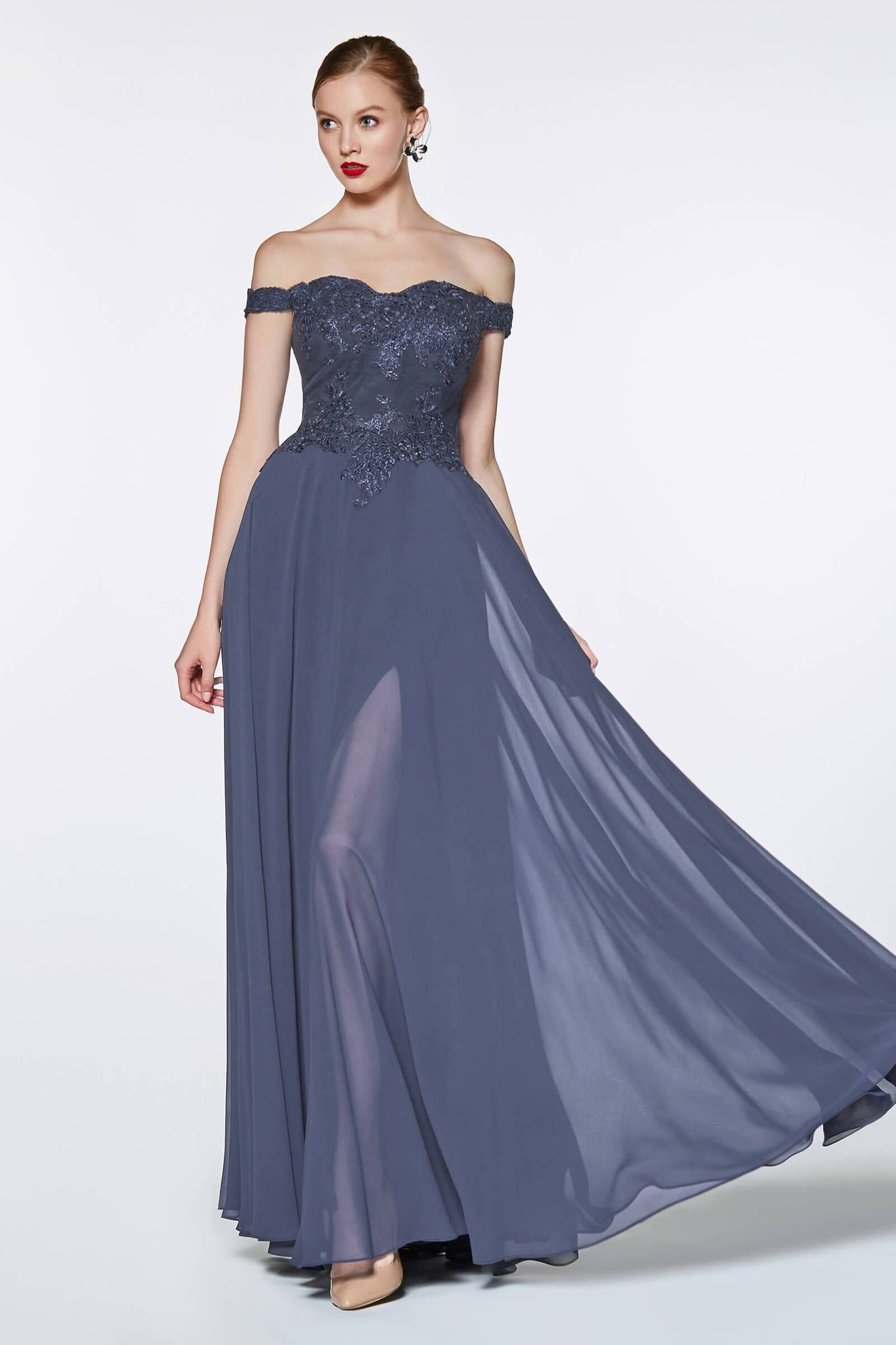 83928e3165d Long Off Shoulder Prom Dress Evening Gown in 2019