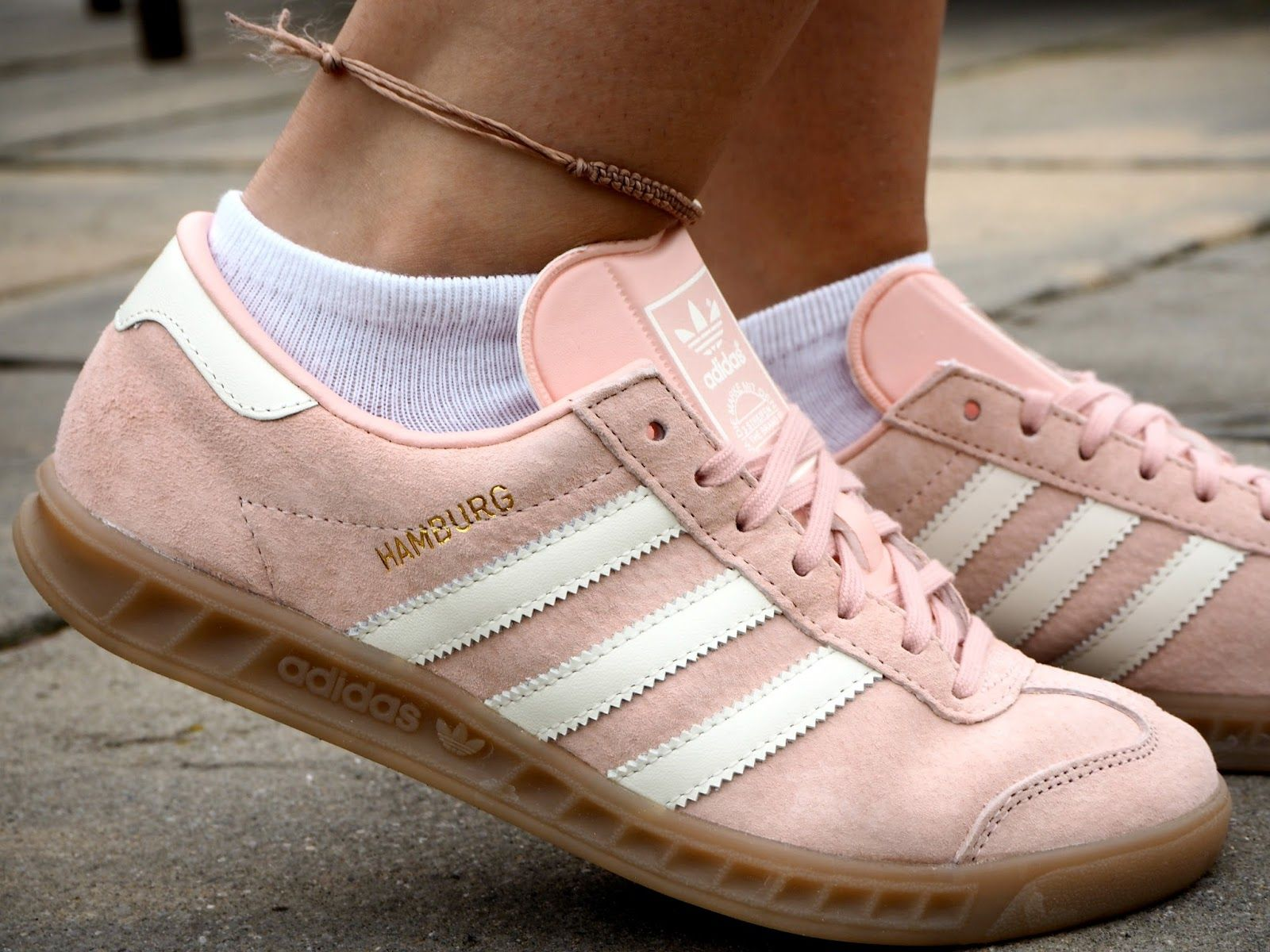 Adidas gazelle sneakers light pink or peach color