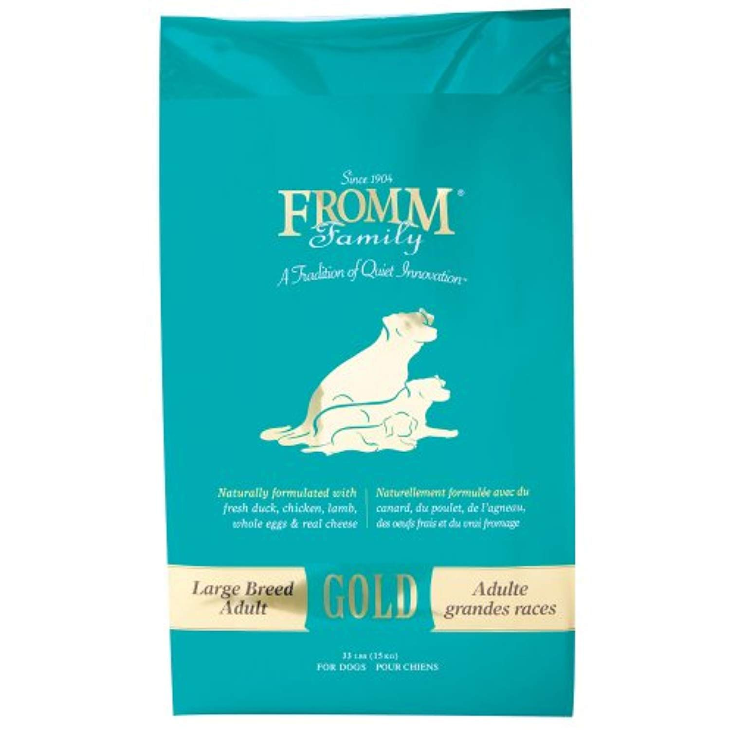 Fromm Adult Gold Large Breed Formula Dry Dog Food To
