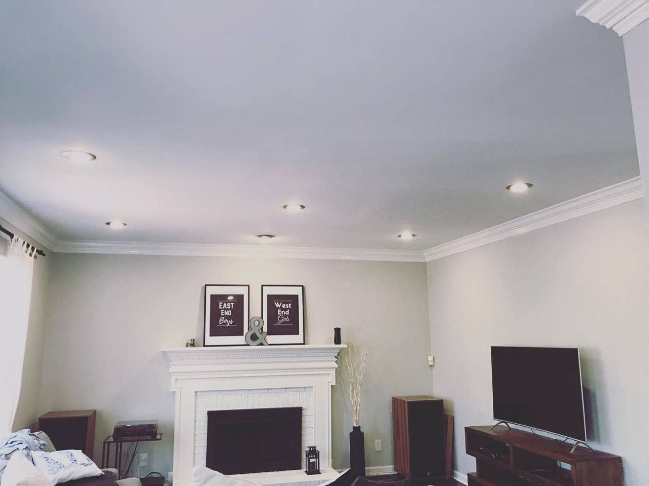 Because drilling a bunch of holes in the ceiling isn\'t terrifying at ...