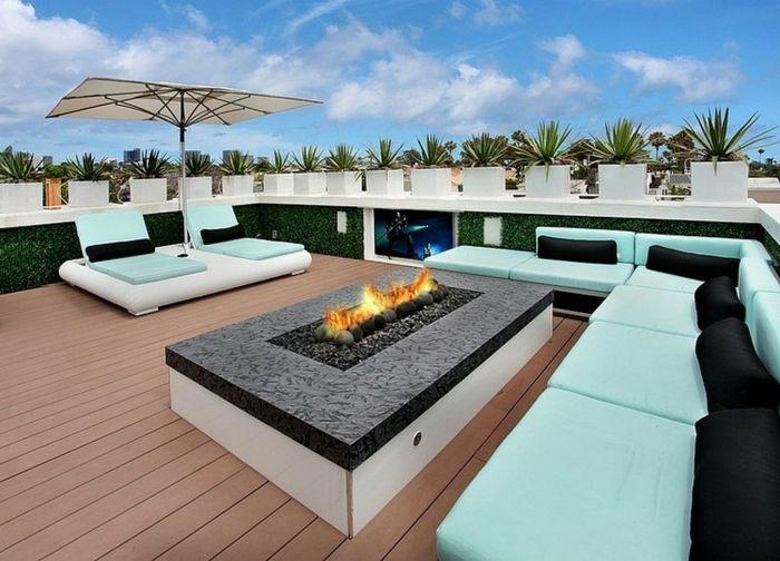 1001 ideas de decoraci n de terrazas con encanto for Decoracion terrazas grandes