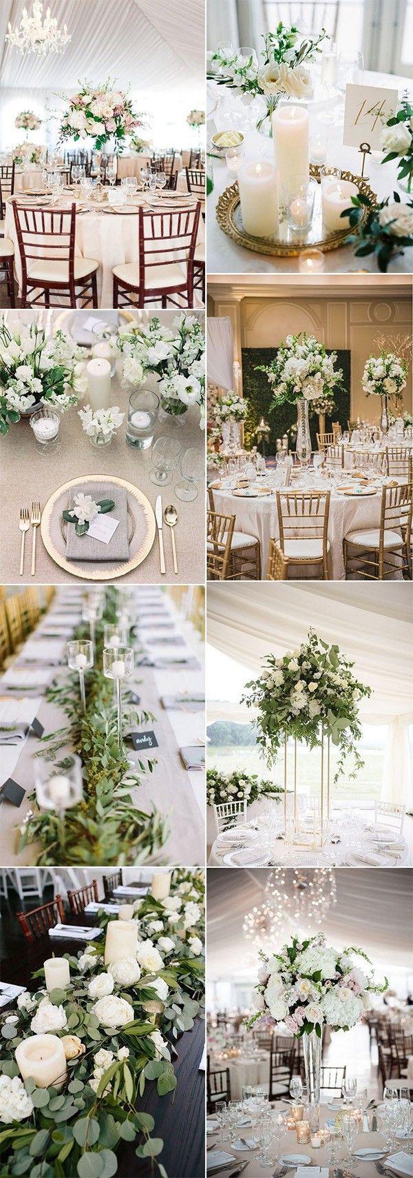 Fall wedding decor 2018   Elegant Wedding Centerpiece Ideas for  Trends  Wedding