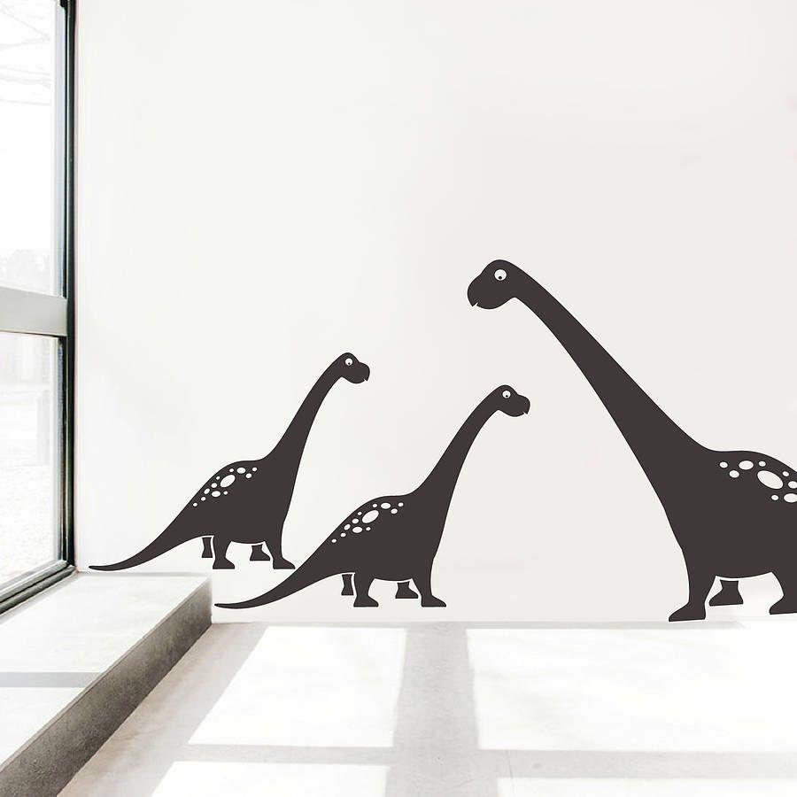 Brontosaurus Wall Sticker Decals Wall Sticker Ranges And Walls