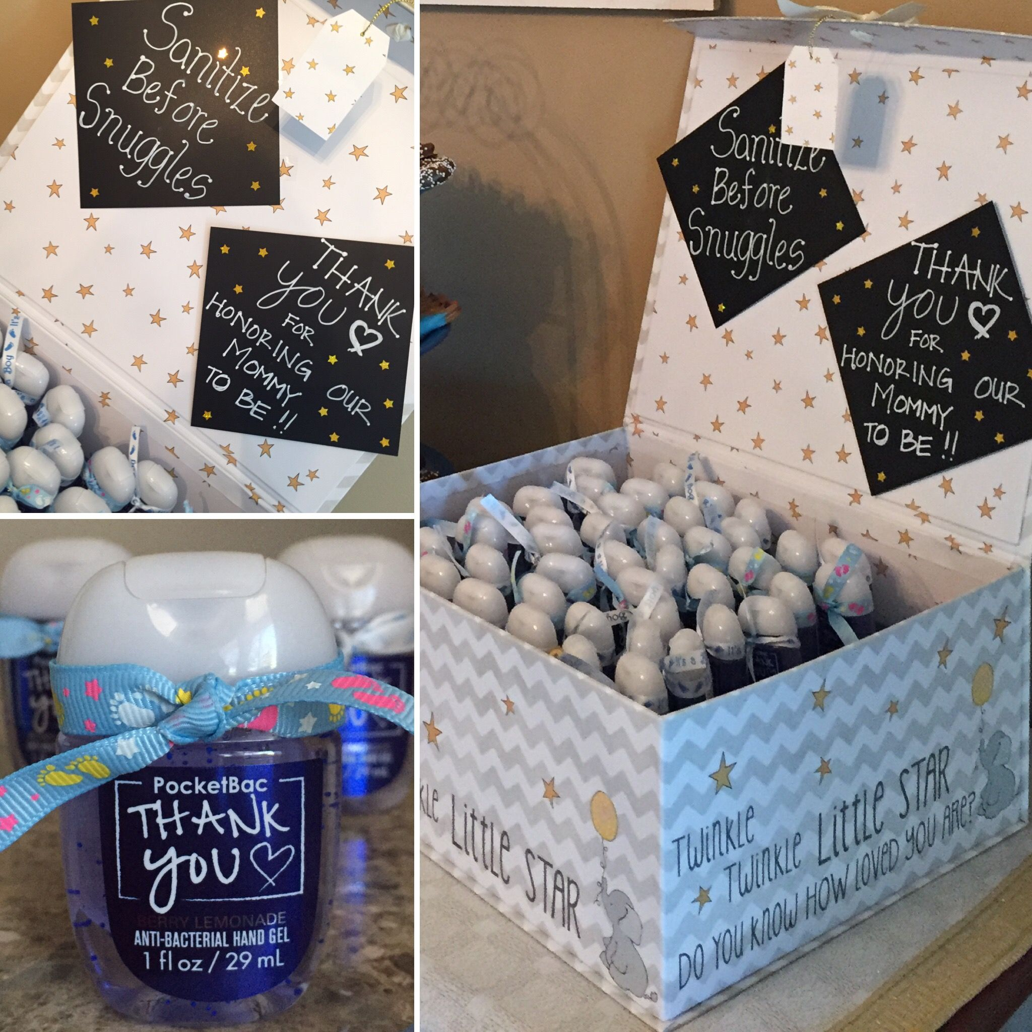Baby Shower For A Boy Twinkle Twinkle Little Star Theme Favors