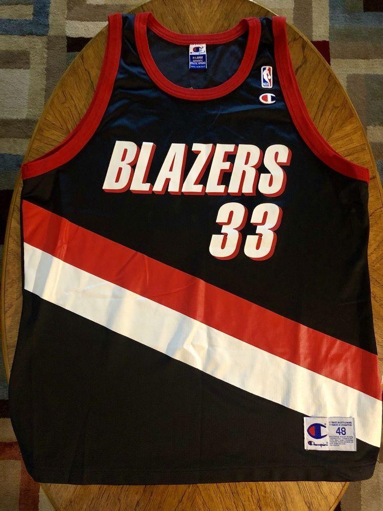 d8ecd928e Champion Scottie Pippen  33 Portland Trail Blazers NBA Jersey 48 XL Gold  Bulls (eBay Link)