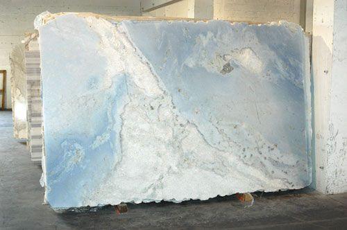 Coverings Etc Detail Kitchen Slab Blue Granite Stone Countertops