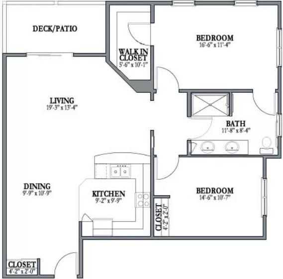 Floor Plans, Senior Apartments