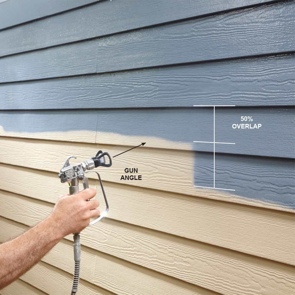 Professional Painting Tips: Airless Paint Sprayer Tips For Exterior Paint Jobs There's