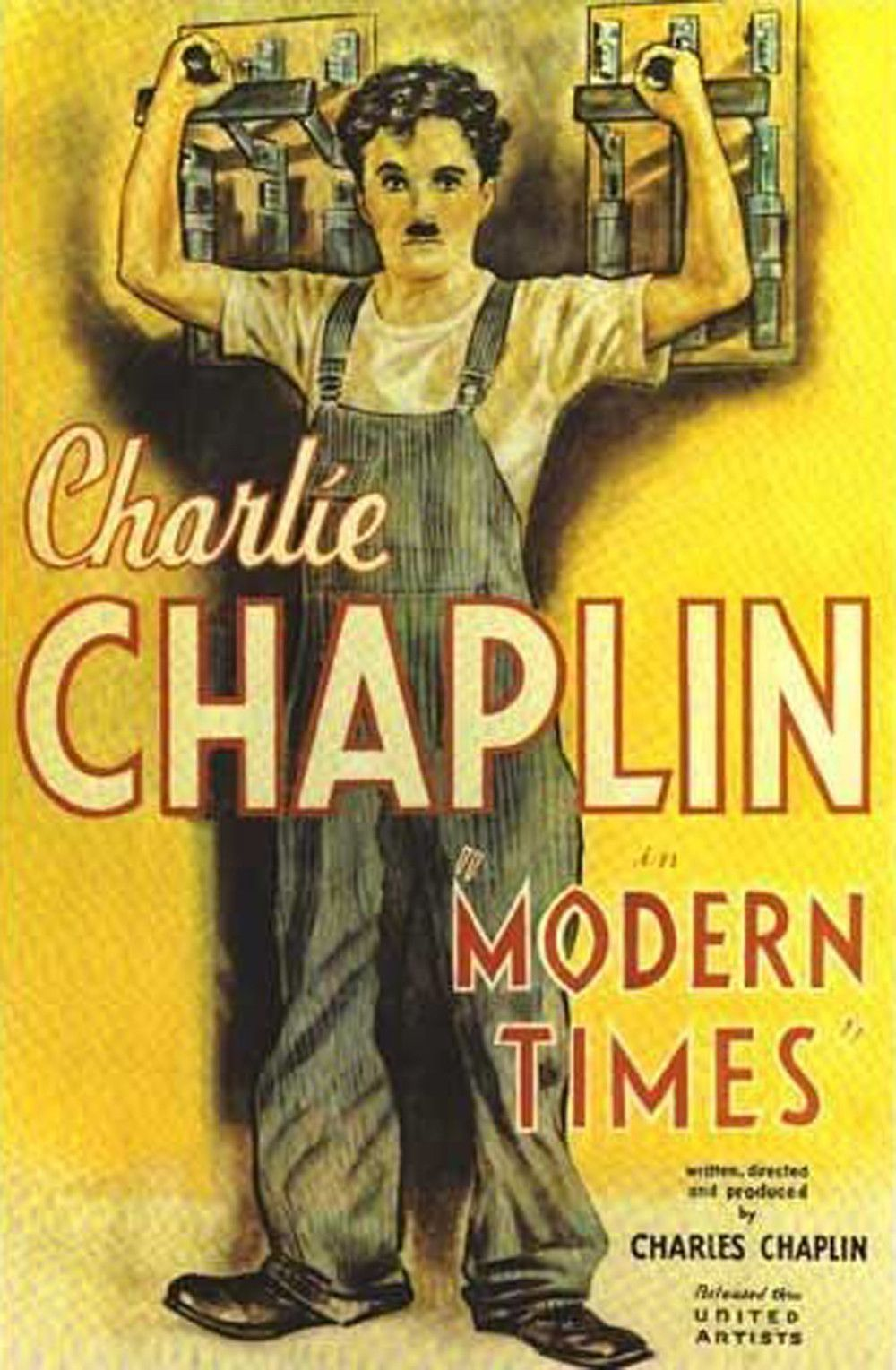 charlie chaplin s modern times movie analysis Mary woodling org communications film analysis paper 9/2/10 chaplin's vision of scientific management the 1930's were a period of economic misfortune.