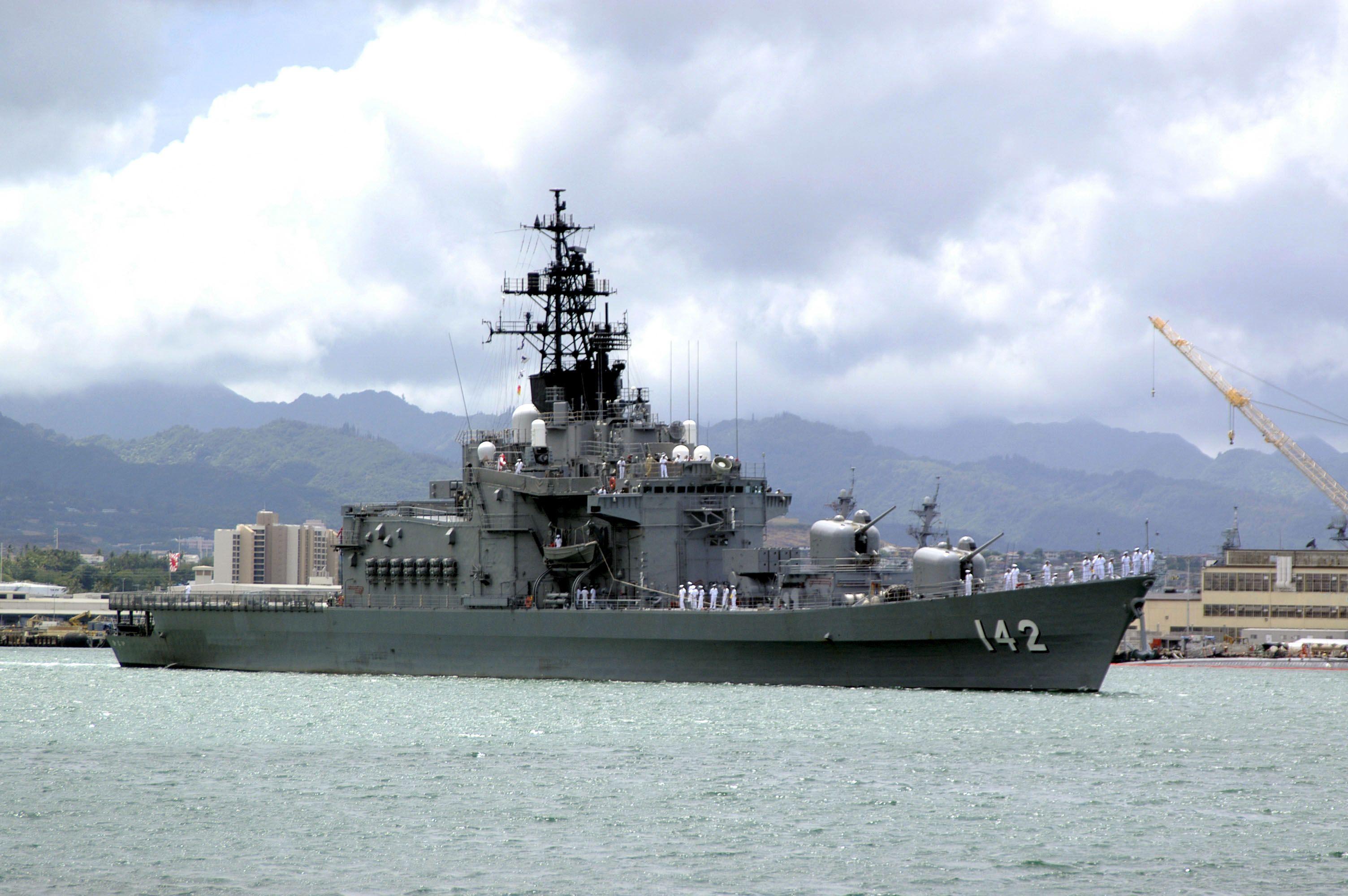 JS Hiei (DDH-142) - Haruna class Destroyer (Japan)