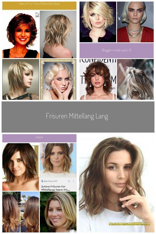 Frisuren Mittellang Lang gestuft Fransig Lockig, #fransig