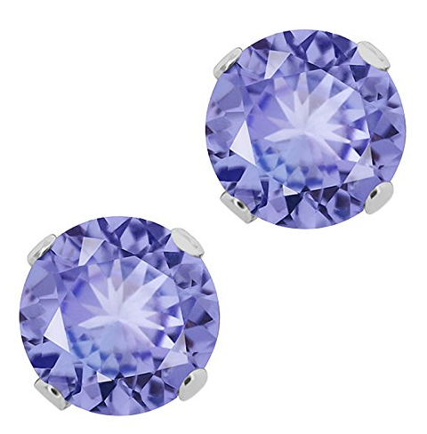 Sterling Silver Oval Cut CZ Quatrefoil Stud Earrings /& Pendant Set Assorted colors for women Brushed finish