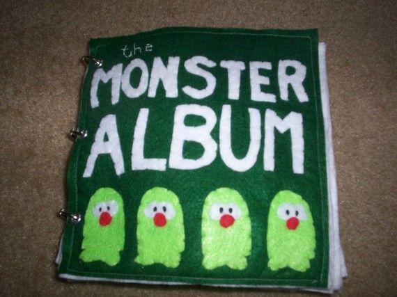 Quiet Book--Monsters!